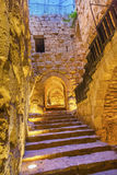 Qalat ar-Rabid Ancient Arabic Fortress Castle Ajlun Jordan Stock Images
