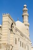 Qalawun复合体, AlMuizz街道,伊斯兰教的开罗,埃及 库存图片