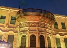 Qalawun复合体, El Moez街道在晚上 免版税图库摄影