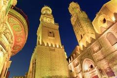 Free Qalawun Complex,El Moez Street At Night. Stock Image - 63525761