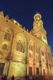Qalawun complex,El Moez street at night. Royalty Free Stock Photography
