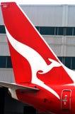 Qantas飞机 免版税图库摄影
