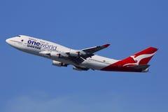 qantas Royaltyfri Fotografi