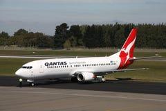 Qantas Fotografia Stock Libera da Diritti