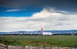Qantas Boeing 747 imagenes de archivo