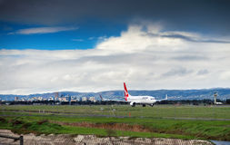 Qantas Boeing 747 Imagens de Stock