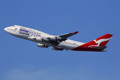 Qantas Royalty Free Stock Photography