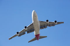 Qantas Boeing 747-400 volant Photo stock