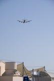 Qantas A380 Perth lotnisko Fotografia Royalty Free