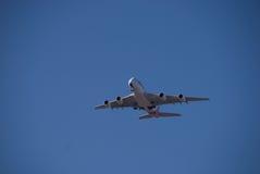 Qantas A380 Perth lotnisko Zdjęcia Royalty Free