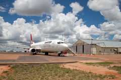 Qantas returns to birthplace Royalty Free Stock Images