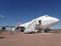 Qantas versenkt Museum, Longreach, Queensland Lizenzfreies Stockbild