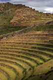 Qantus Raqay -印加人的神圣的谷-秘鲁 免版税库存照片