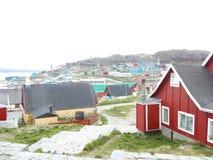 Qaqortoq de Gronelândia Fotos de Stock Royalty Free