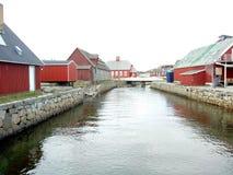 Qaqortoq de Gronelândia Foto de Stock