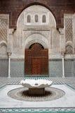 qarawiyyin мечети fes Стоковые Изображения RF