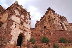 Qasba Tobius ` s στα βουνά ατλάντων στο Μαρόκο Στοκ φωτογραφίες με δικαίωμα ελεύθερης χρήσης