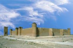 Qasr al-Hayr al-Sharqi castle in the syrian desert Royalty Free Stock Photos