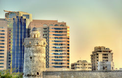 Qasr al-Hosn, an ancient fort in Abu Dhabi Royalty Free Stock Images