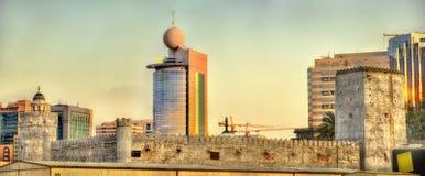 Qasr al-Hosn, an ancient fort in Abu Dhabi Royalty Free Stock Photo
