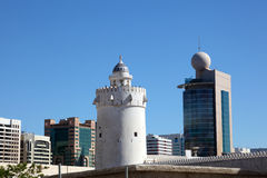Qasr al-Hosn tower in Abu Dhabi Royalty Free Stock Photography