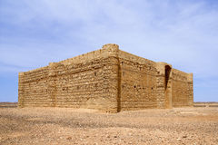 Qasr al Kharana - Castle in desert Stock Photos