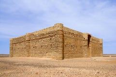 Qasr al Kharana - Castle in desert Stock Photos