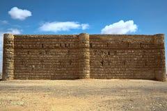 Qasr al Kharanah or Harrana. Jordan. Royalty Free Stock Photography