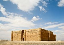 Qasr al Kharanah or Harrana. Jordan. Royalty Free Stock Photos