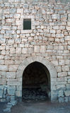 Qasr al - średniowieczny fort, Azraq, Jordania zdjęcie stock