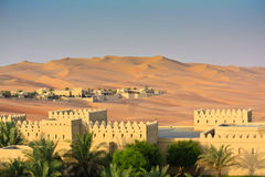Qasr Al Sarab desert resort Royalty Free Stock Photo