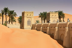 Qasr Al Sarab, Liwa, Förenade Arabemiraten Royaltyfri Fotografi