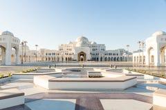 Qasr Al Watan, palacio presidencial de los UAE, Abu Dhabi imagen de archivo libre de regalías