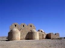 Qasr Amra desert castle. Jordan Stock Images