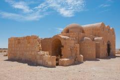Qasr Amra, Jordanien Royaltyfri Bild