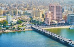 Qasr El零桥梁在开罗,埃及 库存照片