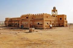 Qasr el Yahud Baptismal Site. An ancient church in Qasr el Yahud Baptismal Site near Jericho, Israel Stock Photos