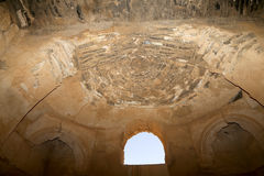Qasr Kharana (Kharanah o Harrana), el castillo del desierto en Jordania del este (100 kilómetros de Amman) Imagen de archivo libre de regalías