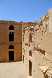Qasr Kharana (Kharanah o Harrana), il castello del deserto in Giordania orientale (100 chilometri di Amman) Fotografie Stock Libere da Diritti