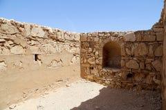 Qasr Kharana (Kharanah oder Harrana), das Wüstenschloss in Ost-Jordanien (100 Kilometer von Amman) Stockbilder