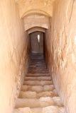 Qasr Kharana (Kharanah ou Harrana), o castelo do deserto em Jordânia oriental (100 quilômetros de Amman) Imagens de Stock Royalty Free