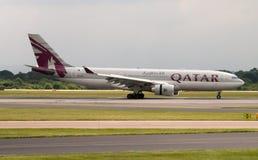 Qatar Airbus A330 Foto de Stock