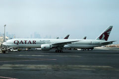 Qatar airlines Stock Image