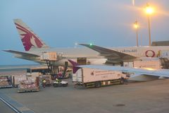 Qatar Airways stock foto