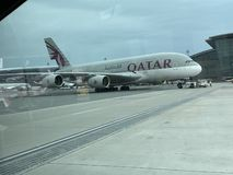 Qatar Airways photos libres de droits