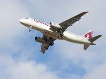 Qatar Airways Стоковое Изображение