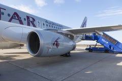 Qatar Airways Photo libre de droits