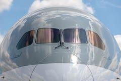 Qatar Airways Boeing 787-8 Dreamliner a7-BCM stock foto's