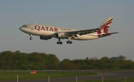 Qatar Airways jet Stock Photography