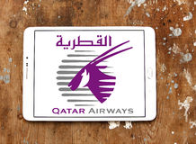 Qatar airways logo royalty free stock images